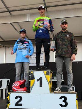 NAT MX2 2019: Doré sur le podium à Yssingeaux