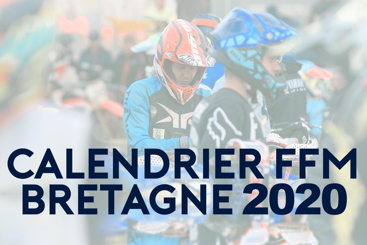 CALENDRIER FFM 2020 BRETAGNE | Mx Bretagne