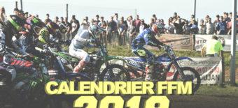 CALENDRIER FFM MOTOCROSS ENDURO BRETAGNE 2018