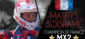 MATHYS BOISRAMÉ CHAMPION DE FRANCE 2018